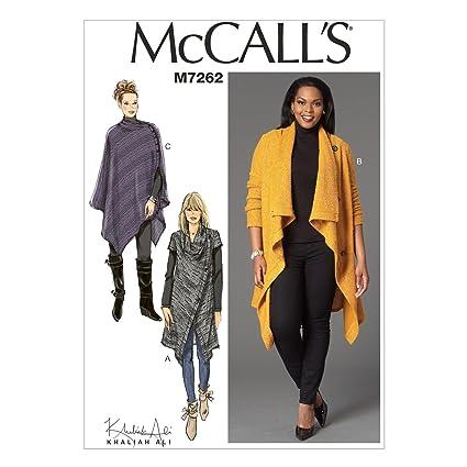 Amazon Mccalls Patterns M7262 Misseswomens Sweater Coat