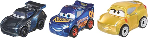 Cars Disney Pixar Mini Racers 3 Pack.: Amazon.es: Juguetes y juegos