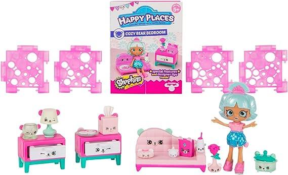 Happy luoghi Shopkins Stagione 1 DECORATORE Pack-Benevolo Bear