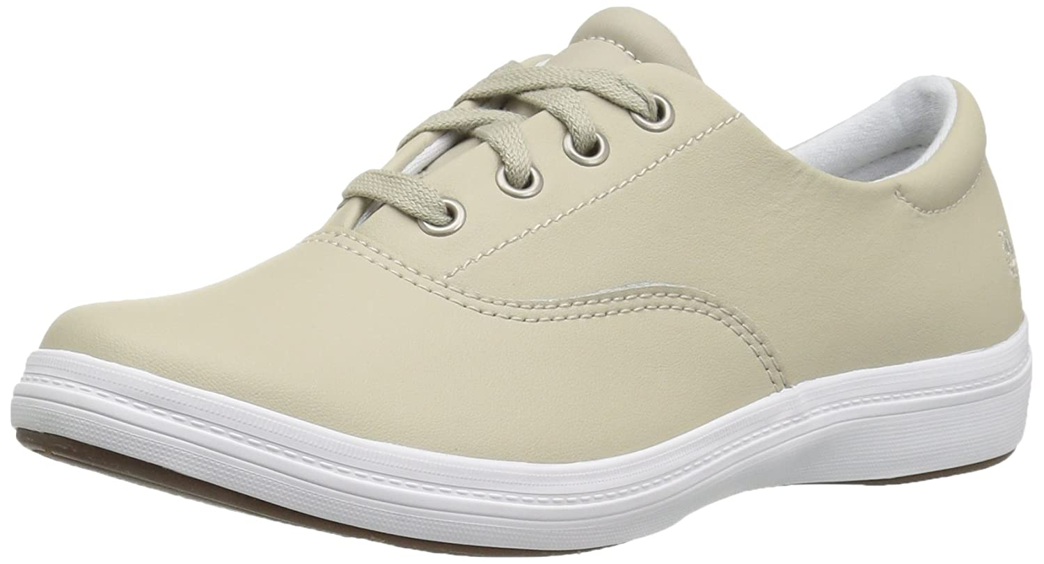 Grasshoppers Women's Janey Ii Fashion Sneaker B01K59ACSU 12 B(M) US|Stone Leather