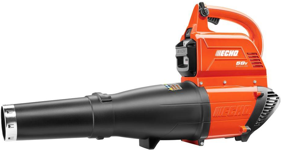 ECHO 120 mph 450 CFM 58-Volt Lithium-Ion Brushless Cordless Leaf Blower-CBL-58V2​AH - The Home Depot