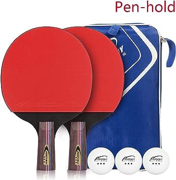MXXMXX - Juego de 2 Pelotas de Ping Pong y 3 Pelotas de Tenis de ...