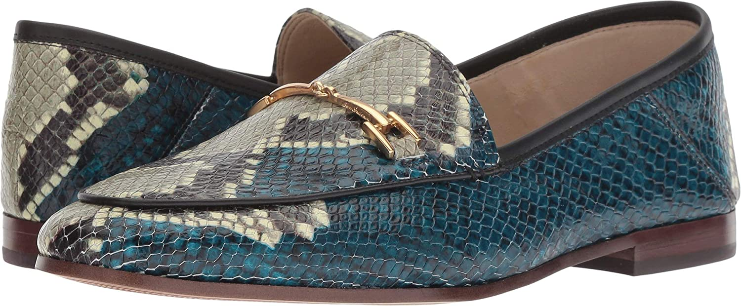 Peacock Blau Multi Multi Multi Serpent Snake Leather Sam Edelman Damen Loraine Slipper  40% Rabatt