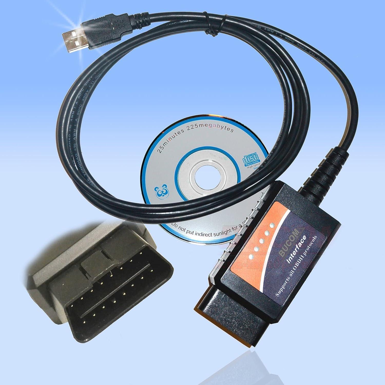 Car USB Cable Version 1 5 OBD II OBD2 Car Diagnostic