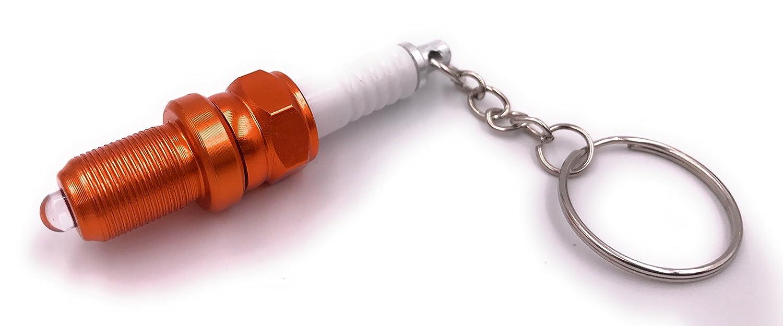 bujía H-Aduanas con llavero LED naranja / linterna diésel ...