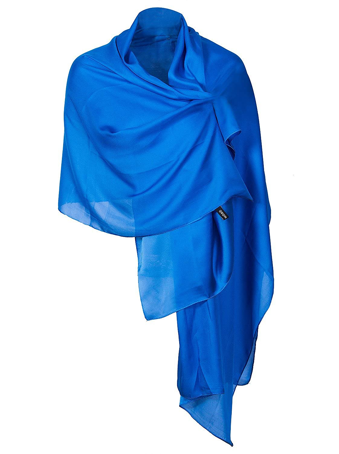 bluee Vijiv Women's 1920s Shawl Wrap Scarf For Bridal Prom Wedding Party Evening Dresses 70.8