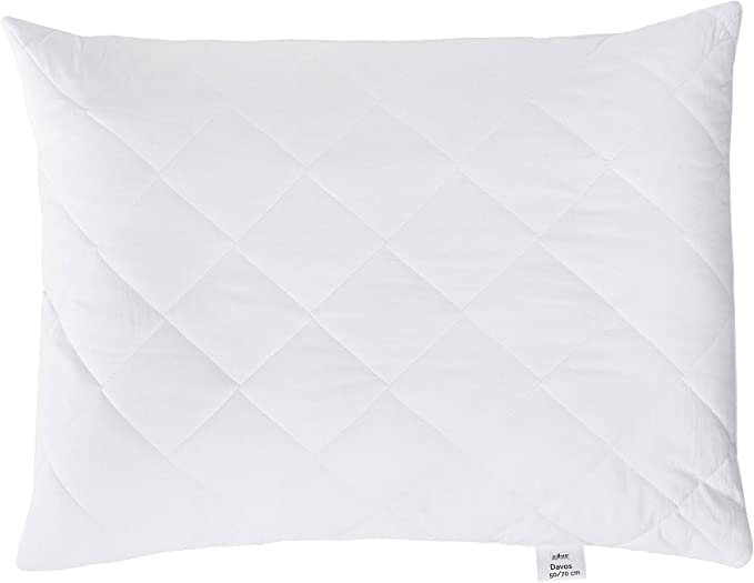 Zollner 115 Microfibre Anti-Allergy Pillow with Zip Closure, Various Sizes, White, 50 x 70 cm: Amazon.de: Küche & Haushalt