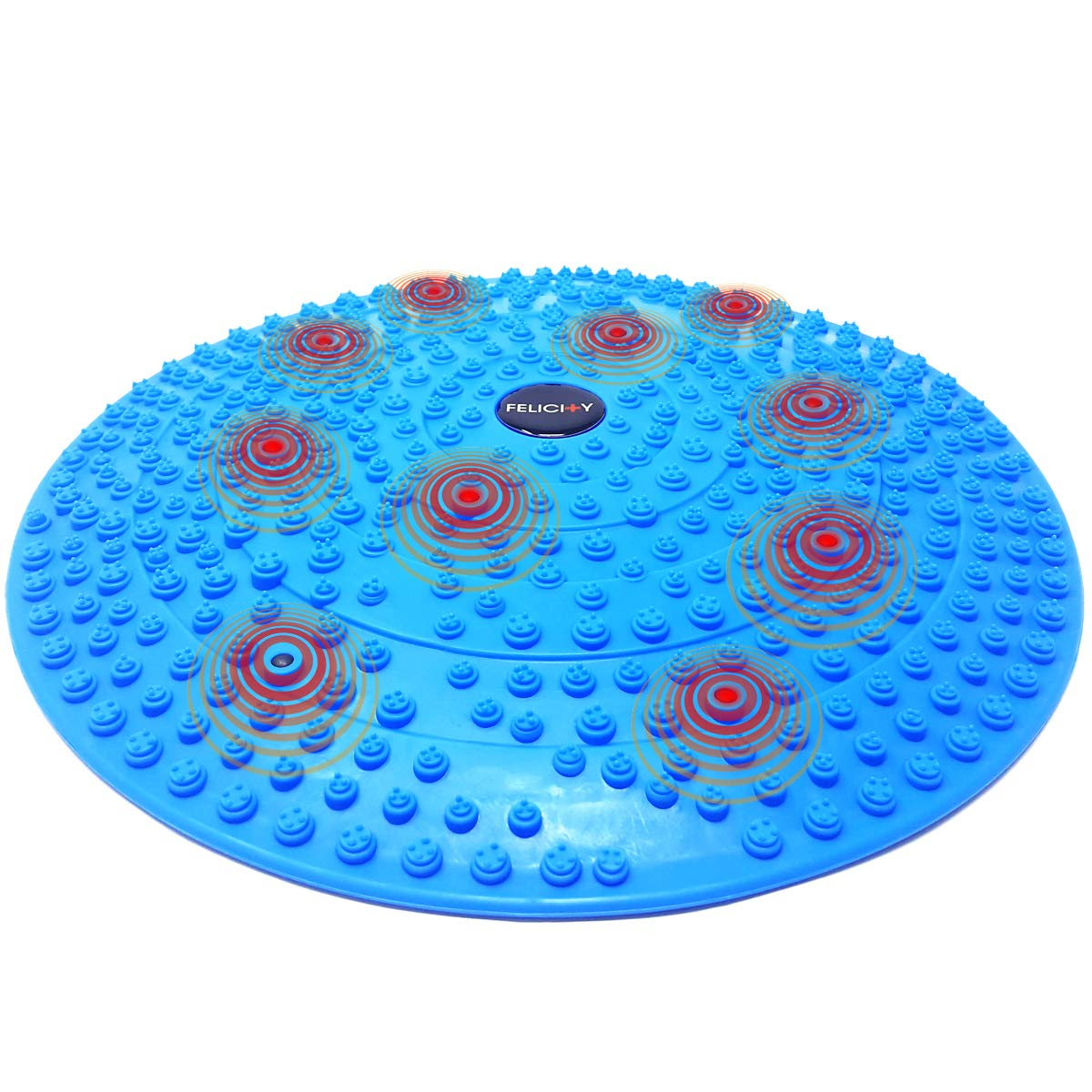 Daiwa Felicity Foot Massager Reflexology Mat with Magnetic Therapy Acupressure Disc by Daiwa Felicity