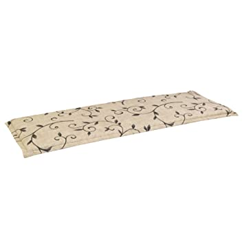 greemotion 411515 - Banco de la almohadilla de zaragoza 100 x 38 x 3 cm