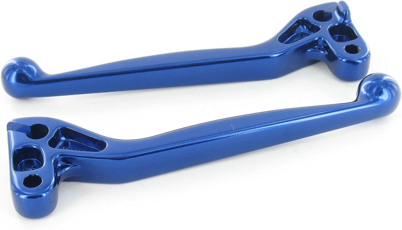 Handhebel Set Simson Alu Massiv Bremshebel Kupplungshebel Auch Für Ausführung Mit Bremslichtschalter Farbe Blau S51 S53 Sr50 Auto