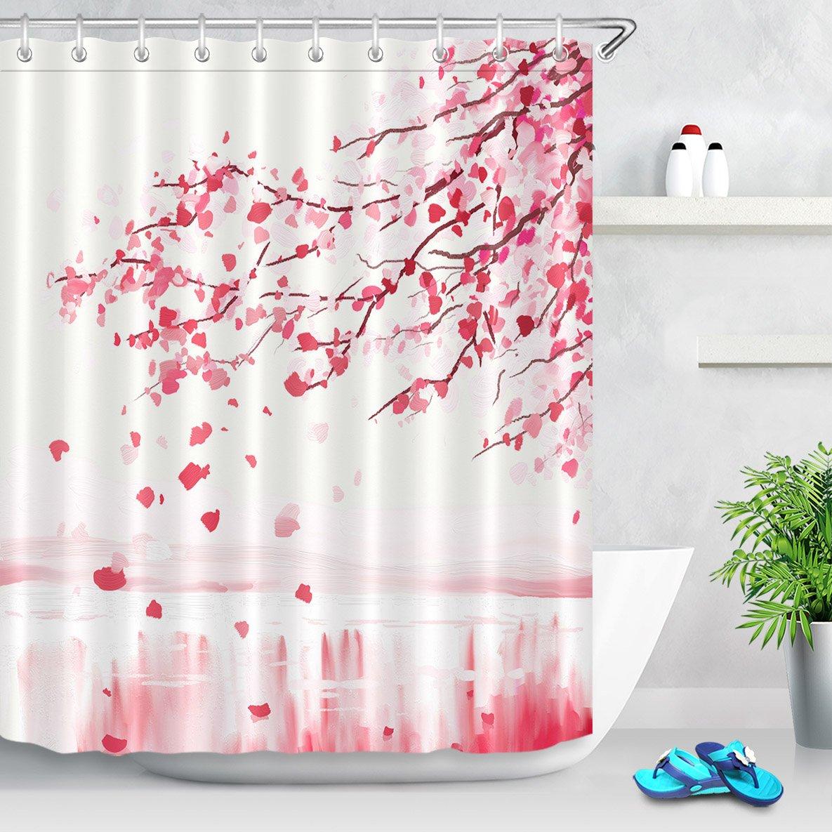 180 x 180 01 Moda Vintage impermeabile tende da doccia antibatterico e resistente alla muffa bagno della tenda Decor