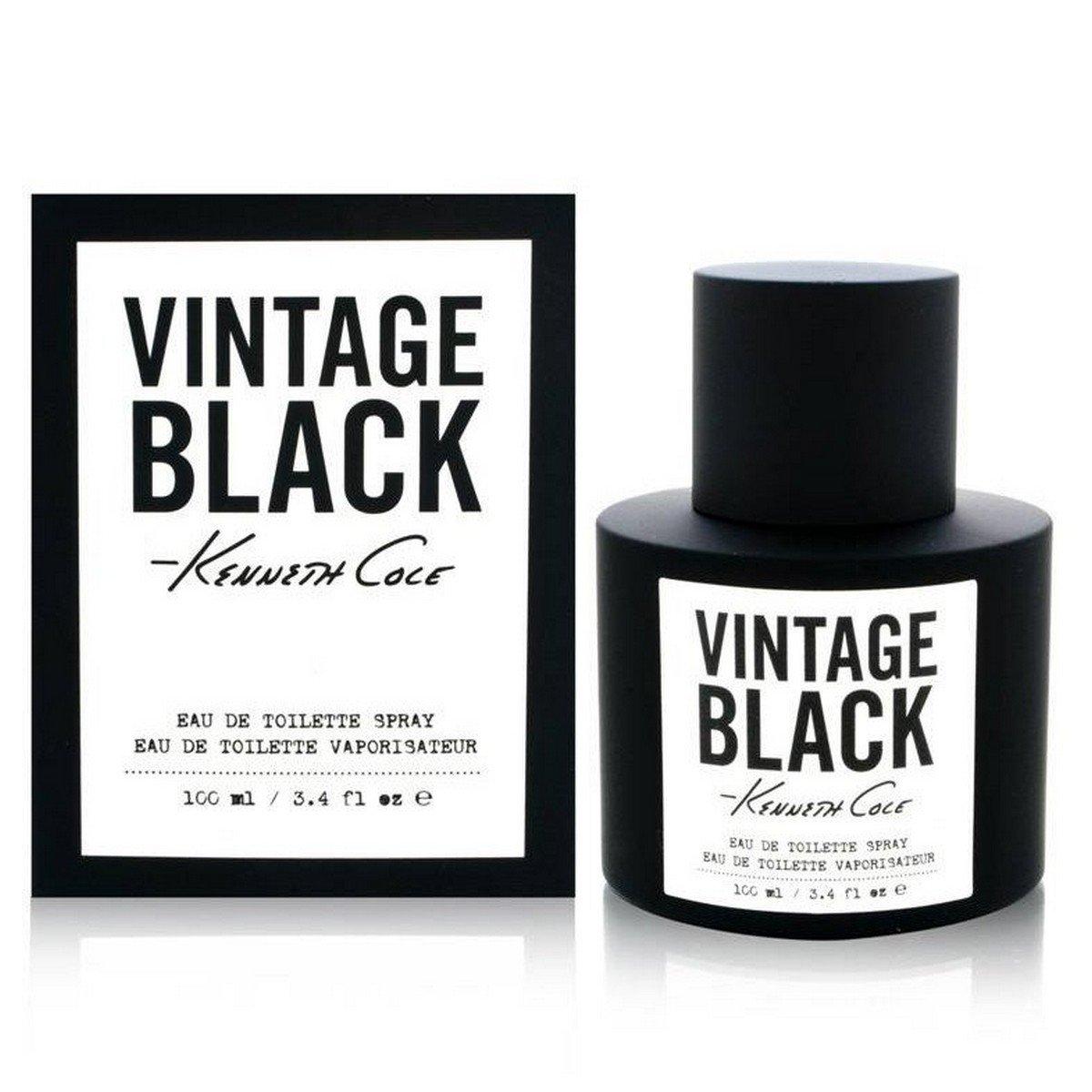 Kenneth Cole Vintage Black Eau De Toilette Spray, 3.4 Fl Oz
