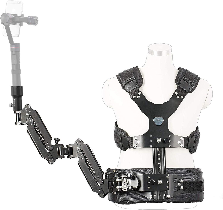 Movo Mc50 Deluxe Universal Weste Dual Gelenkarm Für Kamera