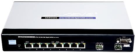 Cisco SRW2008 8-port Gigabit Switch - WebView