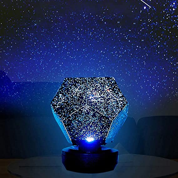 ET-TYXYD Lámpara de proyección LED 3 Colores Juego Giratorio ...
