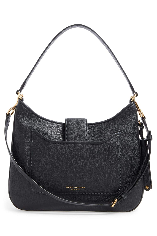 Amazon.com  Marc Jacobs Interlock Leather Hobo  Shoes fa0a6530cebb7