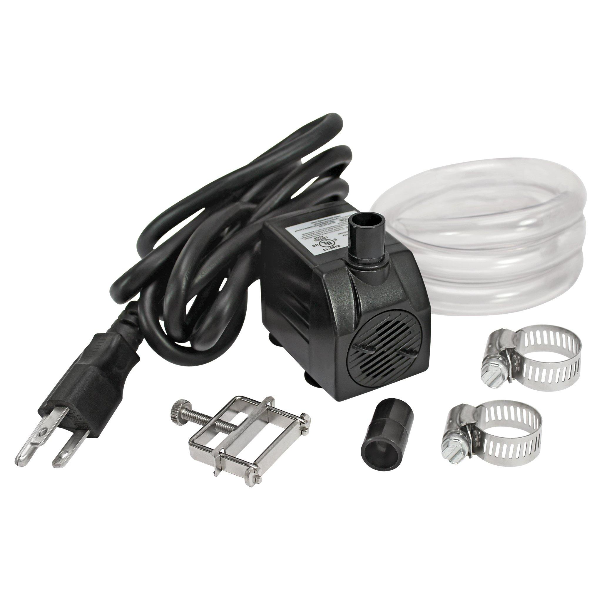 Design Toscano UL-listed, indoor/outdoor, 120 GPH Pump Kit