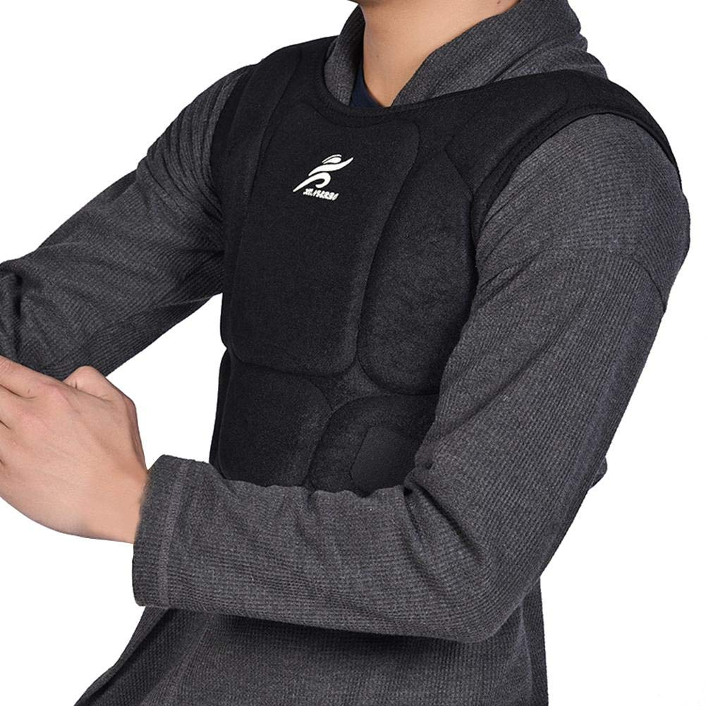 Roche.Z Chest Protector, Heart-Guard/Sternum Protection - Padded Shirt for Baseball, Football, Lacrosse and Goalies Taekwondo Protection Guard Vest for Youth & Adult