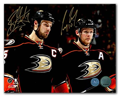 19d05600c Image Unavailable. Image not available for. Color: Ryan Getzlaf & Corey  Perry Anaheim Ducks Dual Autographed ...