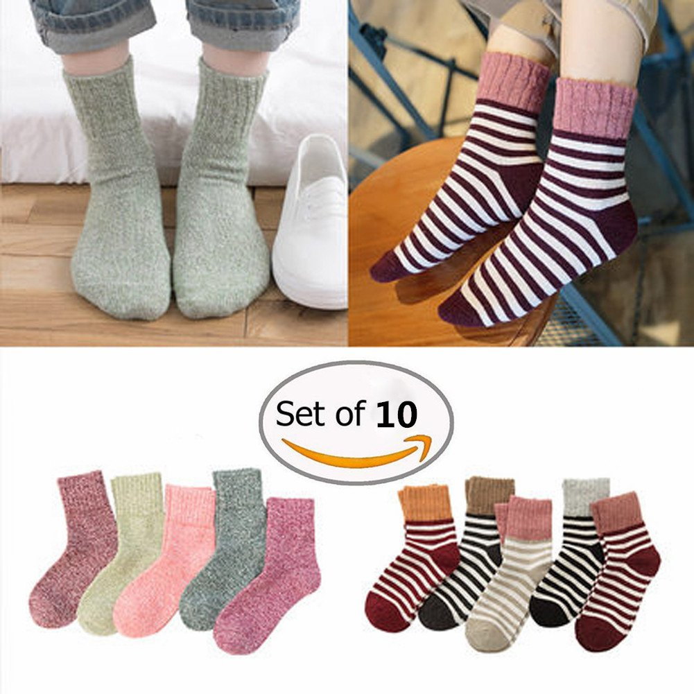 Knöchel Socken, Morbuy 10Paar Comfort Atmungsaktiv Dame Knöchel ...