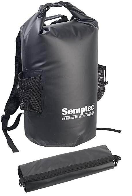 b01dc9ff14 Semptec Urban Survival Technology - Zaino impermeabile da trekking in  telone per camion, 40 litri