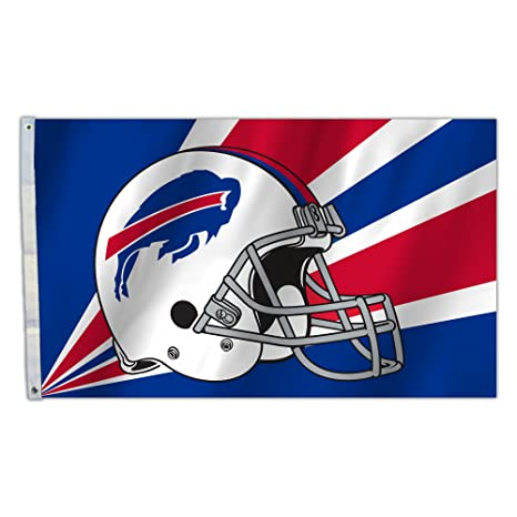 f9adf36b8df90 Amazon.com   NFL Buffalo Bills 3 by 5 Foot Flag   Sports Fan Outdoor ...