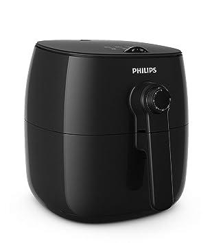 Philips HD9621/90 Turbostar Airfryer (1425 W, Heißluftfritteuse, ohne Öl, 60 Tage risikofrei testen) schwarz