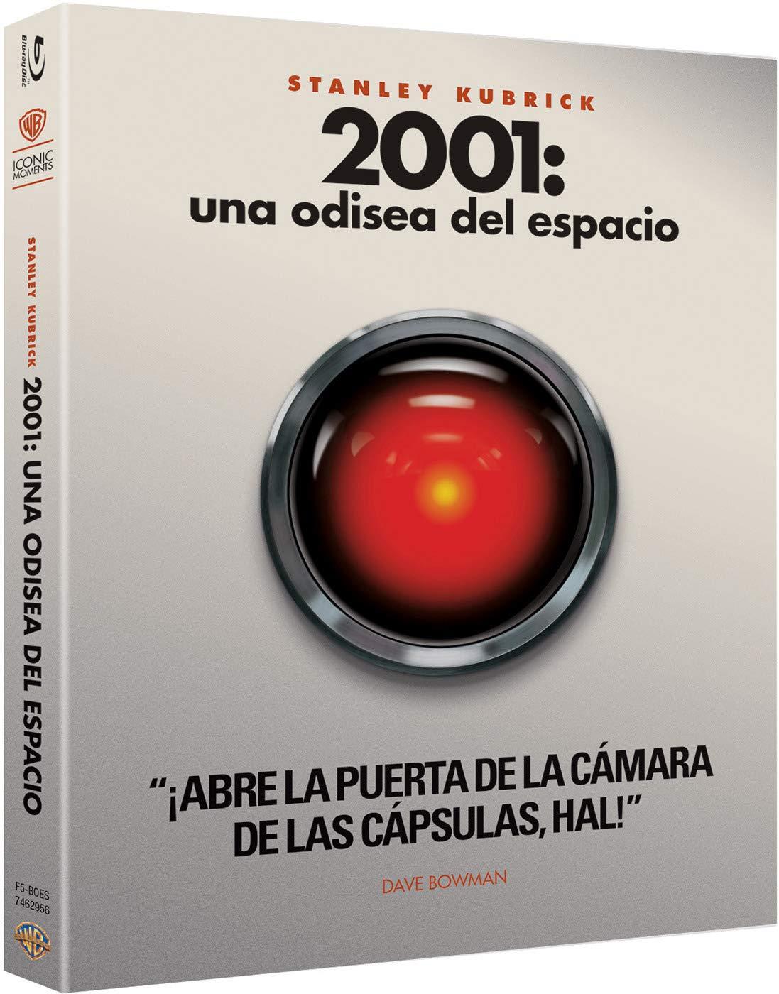 Kubrick: 2001. Una Odisea Del Espacio Blu-Ray- Iconic [Blu-ray]
