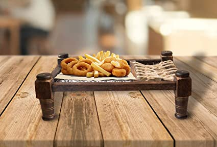 Amazon.com: Giant Roots Decorative Platter Snacks Serving for Party ...