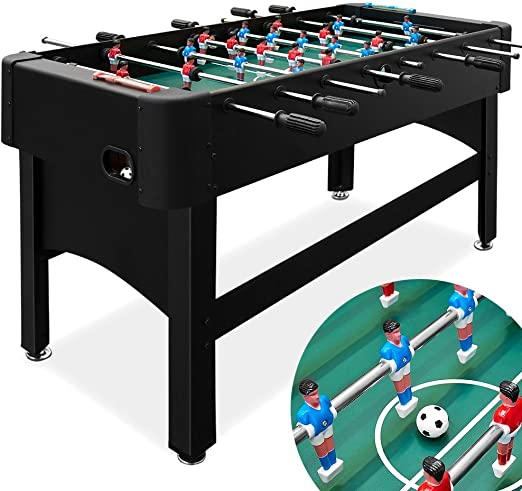 Deuba® Futbolín de adultos | Mesa de futbolín | 119x62x80cm ...