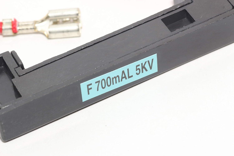 LG - Fusible de alta tensión para horno microondas de 700 mAh, 0,7 ...