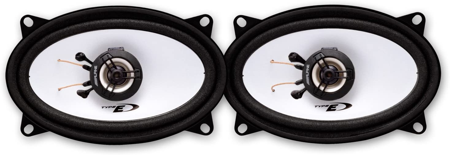 Alpine Sxe 4625s 10 2 X 15 2 Cm 10 X 15 Cm 2 Wege 300 Watt Auto Amp Van Audio Koaxial Lautsprecher