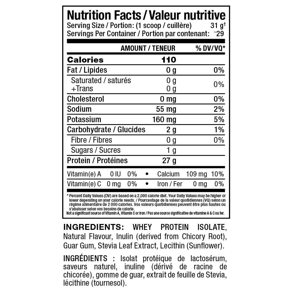 Allmax Iso natural - 2 lbs (Vanilla)