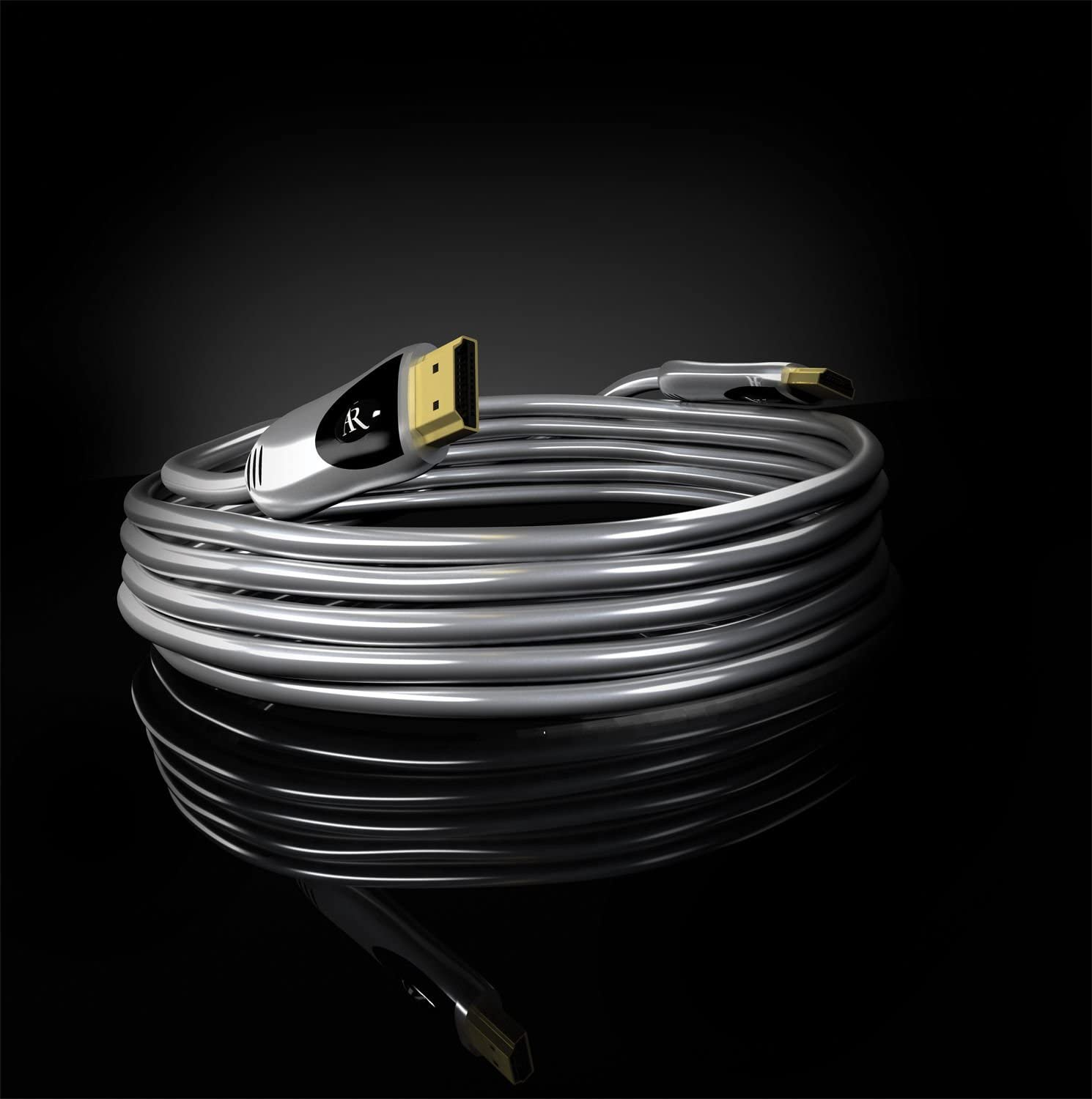 6 Feet Acoustic Research ARGH6 Gold Series High Speed HDMI Cable Discontinued by Manufacturer
