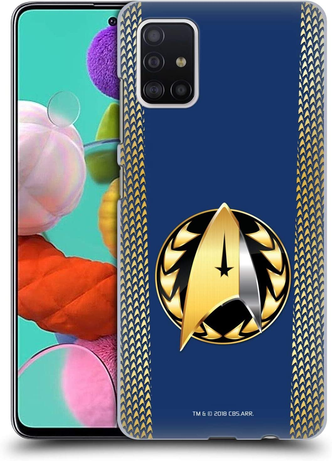 Head Case Designs Officially Licensed by Star Trek Discovery Admiral Badge Uniforms Hard Back Case Compatible with Samsung Galaxy A51 (2019)
