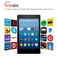 Fire HD 8 Tablet with Alexa 8-inch 32GB w/Special Offers