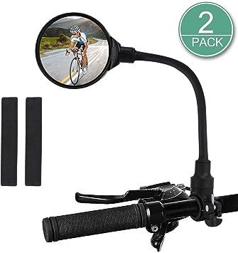 Bicycle Handlebar Rear View Mirror 360 Rotation for MTB Mountain Road Bike