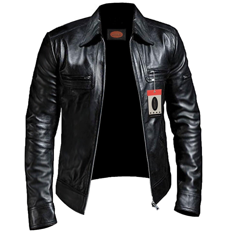 Laverapelle Men's Black Genuine Lambskin Leather Jacket - 1510200 ...
