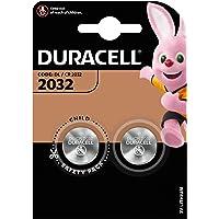 Duracell Specialty 2032 litowa bateria guzikowa 3 V, dwupak (CR2032 /DL2032 zaprojektowane do stosowania w breloczkach…