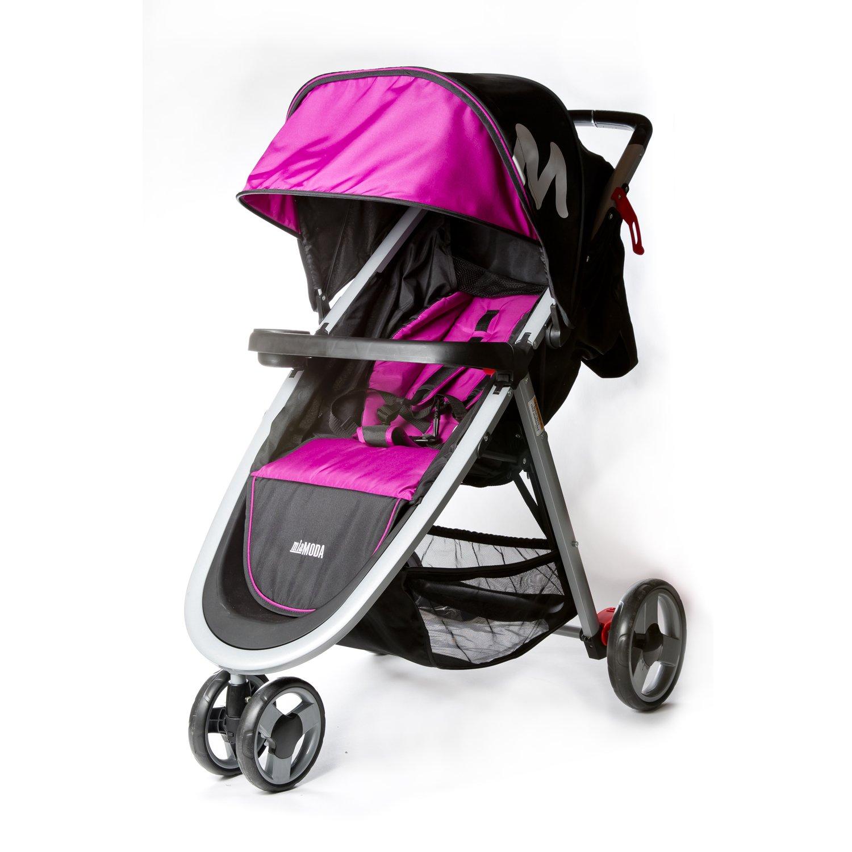 Mia Moda Elite Lightweight Stroller, Pink 502-PNK