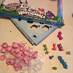 Hatchimals Diamond Lynx Collector/'s Pack 18 Pack