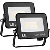 LE 15W Foco LED Exterior, Floodlight LED, IP65