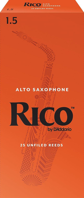 Rico Soprano Sax Reeds, Strength 2.5, 3-pack - RIA0325