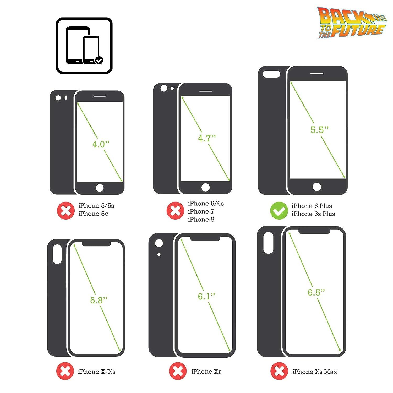 iPhone 6s Head Case Designs Ufficiale Back to The Future Circuiti Tempo I Grafici Cover Ibrida Compatibile con iPhone 6