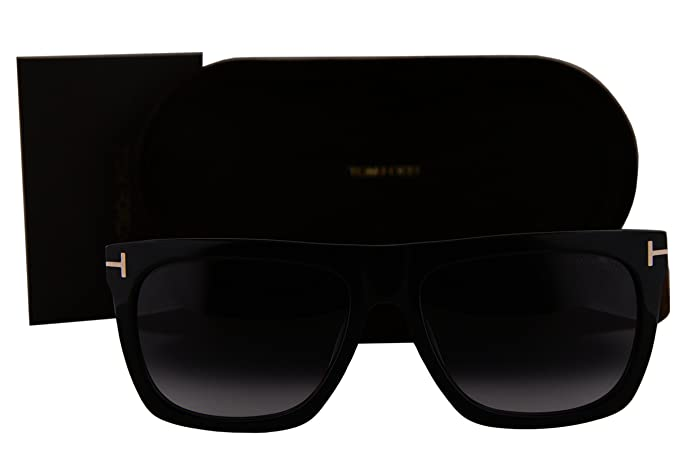 d71cd465360 Image Unavailable. Image not available for. Colour  Tom Ford FT0513 Morgan Sunglasses  Black w Gray Gradient Lens ...