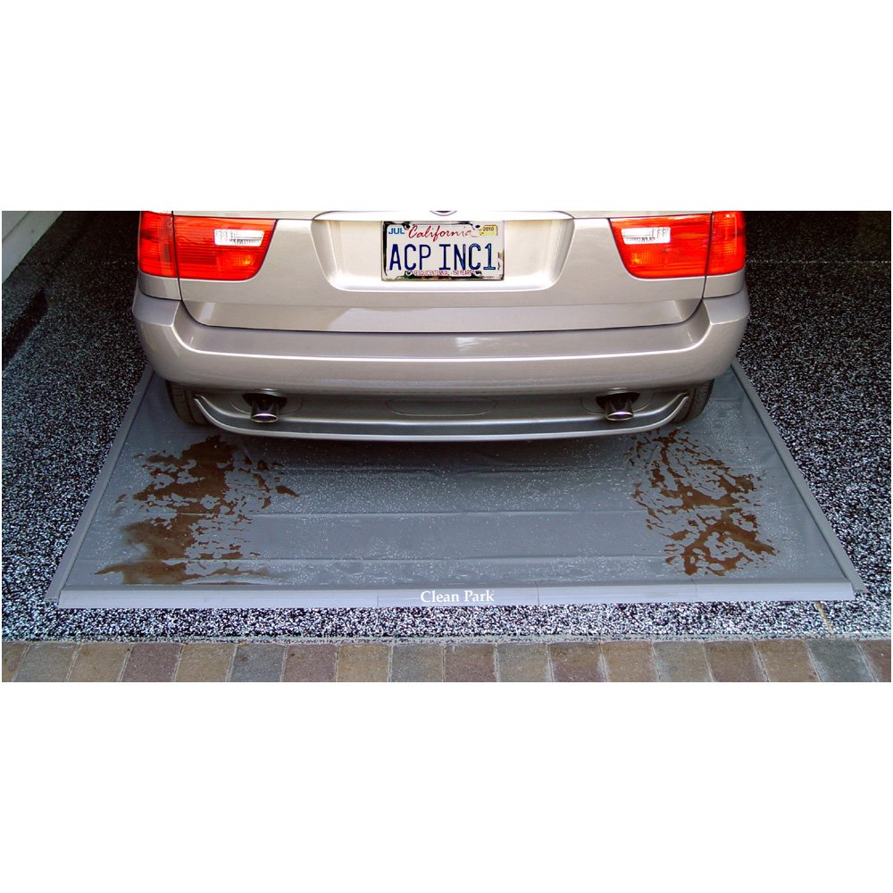 Auto Care Products 70716 Clean Park 7.5 x 16 Heavy Duty Garage Mat with 50-mil Vinyl Sheeting