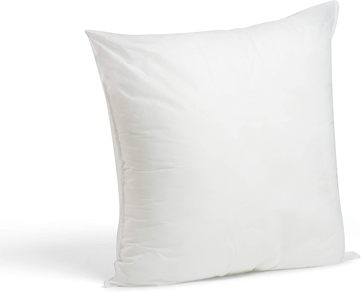 "Foamily Premium Hypoallergenic Stuffer Pillow Insert Sham Square Form Polyester, 18"" x 18"", White: Home & Kitchen"