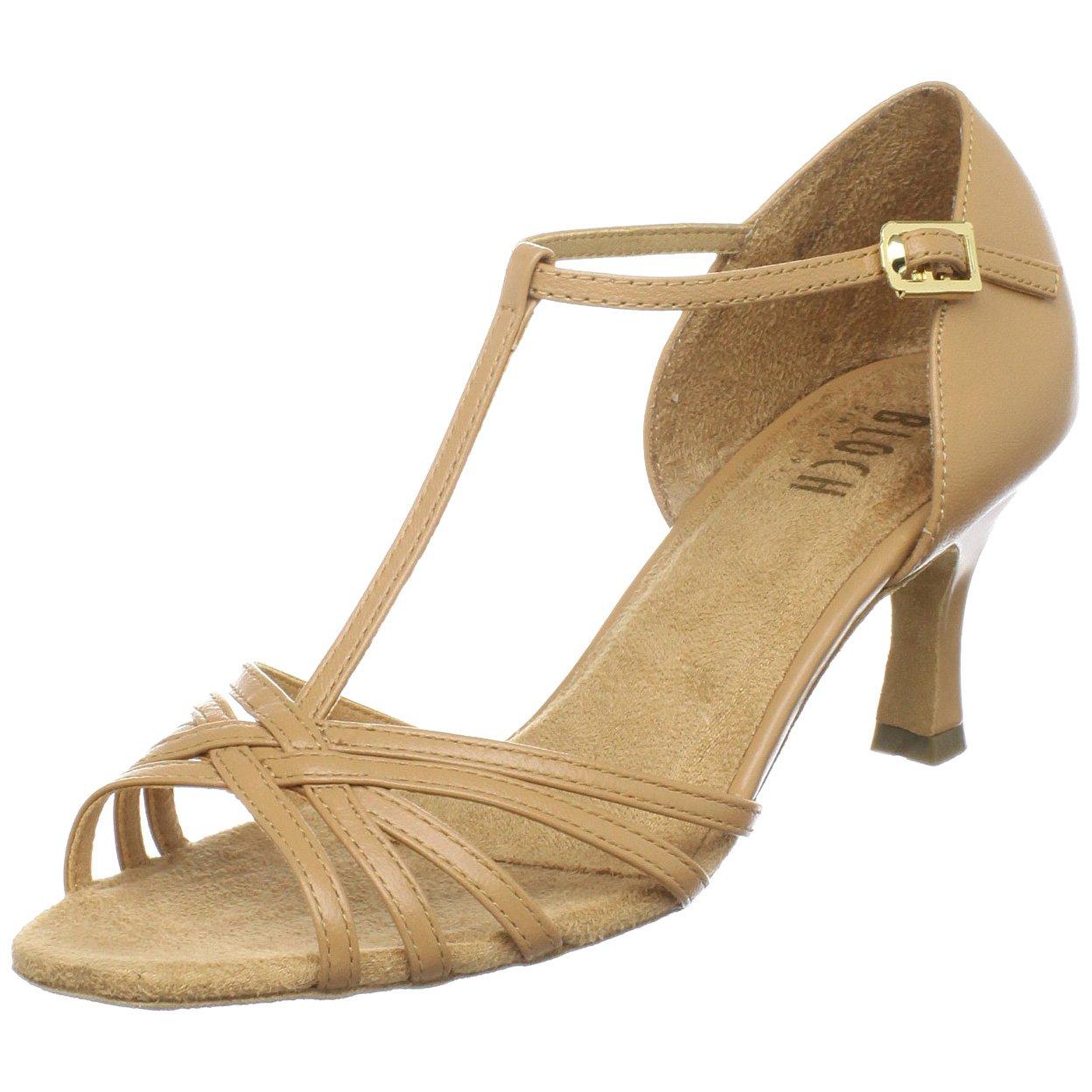 Bloch Women's Nicola Ballroom Shoe,Natural,8 X(Medium) US