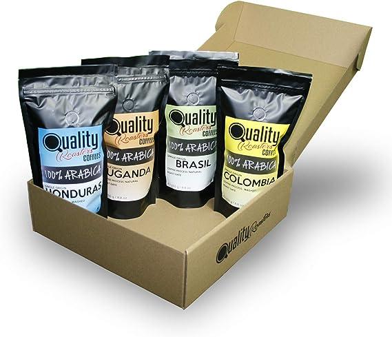 ☕ Café en grano natural. 100% Arabica. Pack para regalo y ...