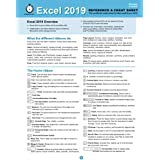 Excel 2019 Reference and Cheat Sheet: The unofficial cheat sheet for Microsoft Excel 2019